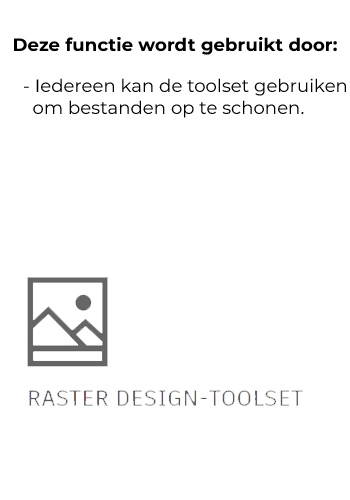 Raster design toolset